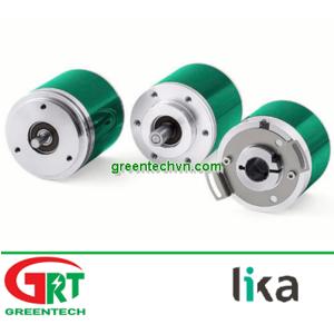 AM58, AM58S, AMC58 | Lika AM58, AM58S, AMC58 | Multi-turn rotary encoder / absolute / hollow-shaft