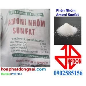 Phèn nhôm amoni sunfat NH4Al(SO4)3.24H2O