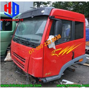 Bán cabin xe ben 3 chân, 4 chân FAW J5 310 350 380... các loại