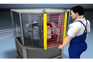 An toàn máy: Bảo vệ an toàn chống thò ngón tay và bàn tay vào khu vực máy đang hoạt động