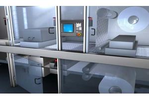 An toàn máy: Bảo vệ an toàn từ lớp cửa, vỏ bảo vệ máy