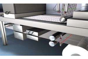 An toàn máy: Phát hiện mối nối cuộn giấy, cảm biến chống chồng giấy