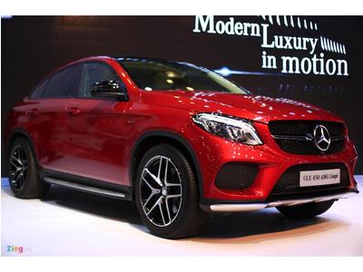 Ảnh chi tiết Mercedes GLE Coupe đầu tiên tại Việt Nam