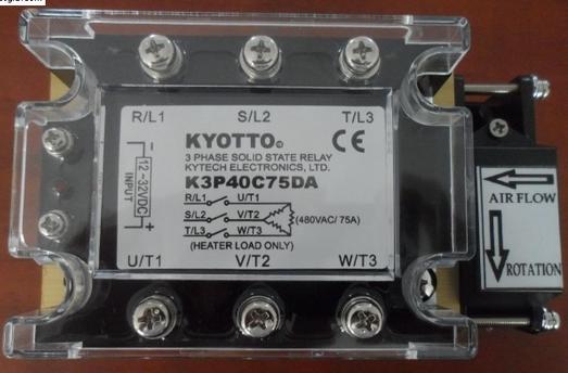 Relay Bán Dẫn 3 pha K3P20C25DA,50DA,75DA,100DA,125DA