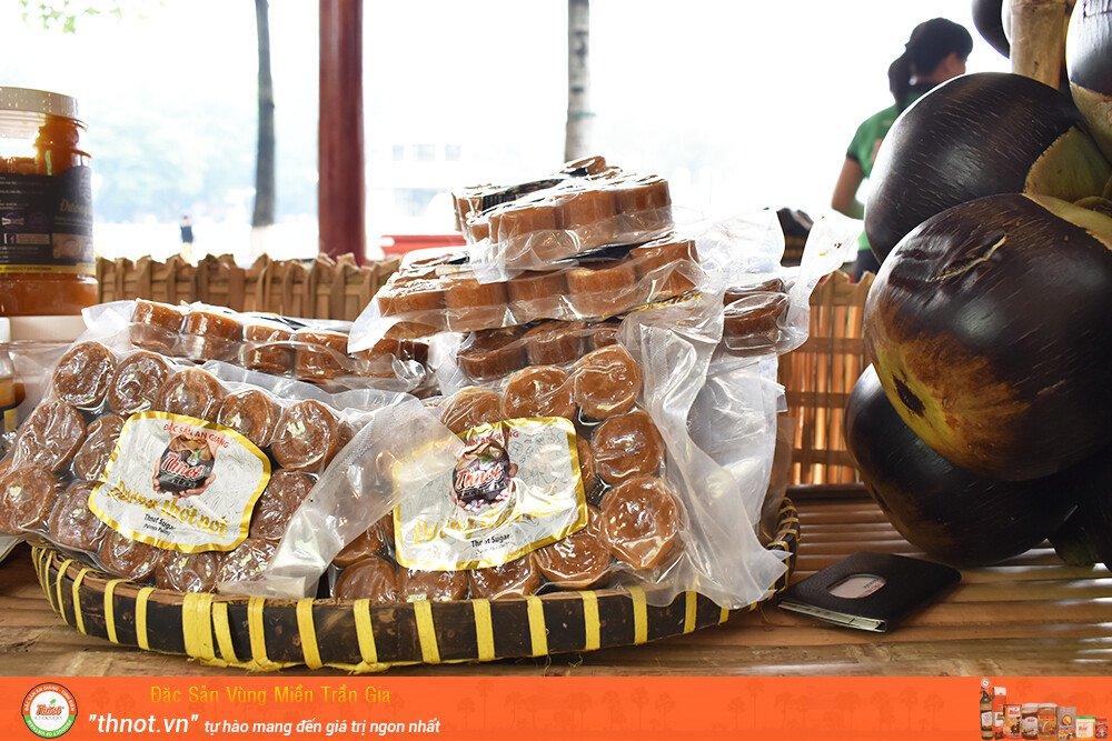 Hình ảnh đường thốt nốt nguyên chất dạng bịch 500g - thnot.vn