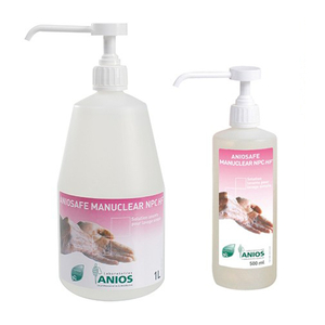 Aniosafe Manuclear NPC HF Dung dịch rửa tay thường quy, tắm rửa vs trong BV