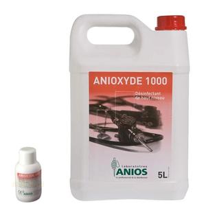 Dung dịch khử khuẩn mức độ cao dụng cụ nội soi và các dụng cụ không chịu nhiệt Anioxyde 1000 (5 lít)