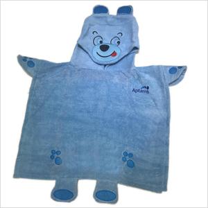 Áo Choàng Bé Hình Gấu 60×110 600gram