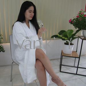 Áo Choàng Tắm Spa Size XL 1.000gram Trắng