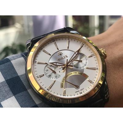 Đồng hồ nam chính hãng aolix al 7061g - lbkt
