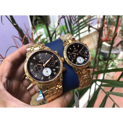 Đồng hồ cặp đôi chính hãng Aolix al 7069g - mkd
