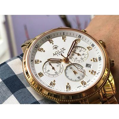 Đồng hồ nam chính hãng Aolix al 7069g - mkt
