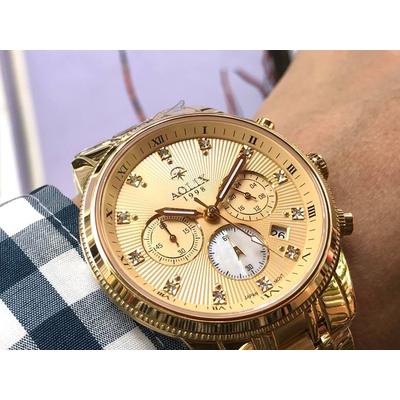 Đồng hồ nam chính hãng Aolix al 7069g - mkv