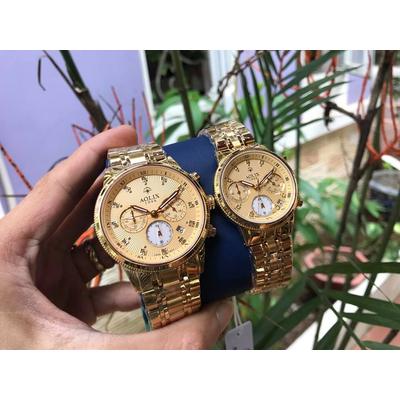 Đồng hồ cặp đôi chính hãng Aolix al 7069g - mkv
