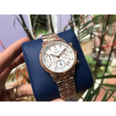 Đồng hồ nữ chính hãng Aolix al 7069l - krt