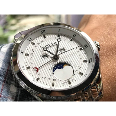 Đồng hồ nam Aolix al 7073g - mst chính hãng