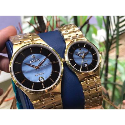 đồng hồ cặp đôi chính hãng aolix al 9154 - mkd
