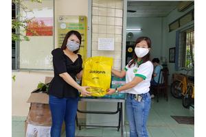 Aquashopvn (FINIS VIETNAM) gửi tặng hơn 2000 khẩu trang y tế đến các nhân viên y tế tại 2 bệnh viện Nhi đồng 1 và bệnh viện Nhi Đồng 2 tại TPHCM.