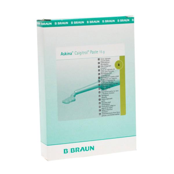 Gel bạc dùng ngoài, điều trị và phòng ngừa loét do tì đè, nhiễm trùng Askina Calgitrol Paste 15 gr