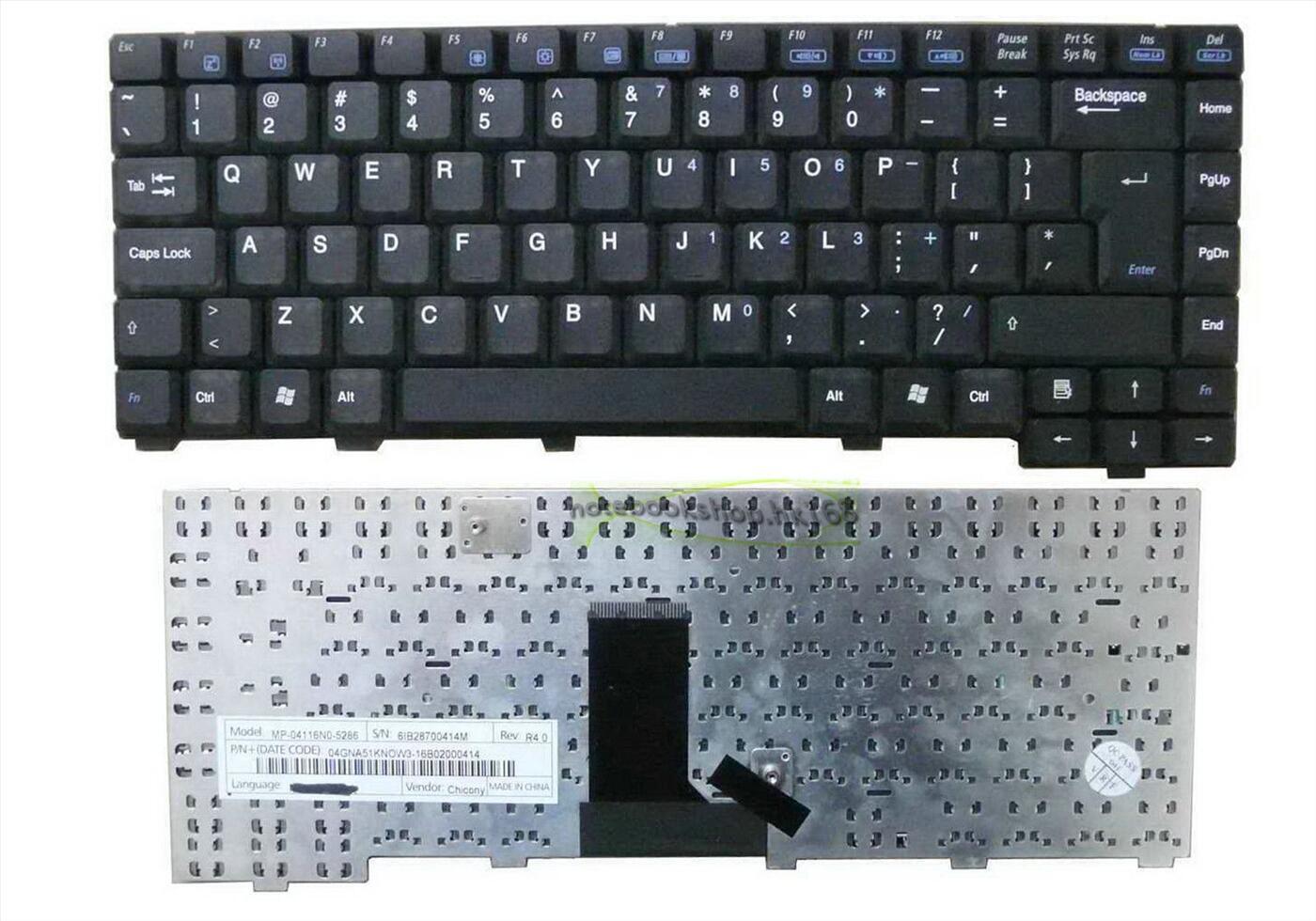 Keyboard Asus A3, A3000, A6, A6000, A9000 Series