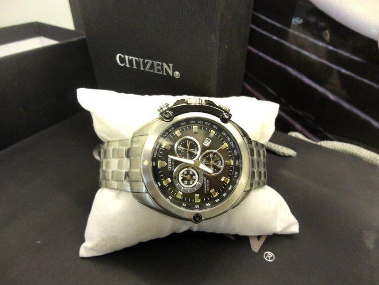 Đồng hồ nam nhật bản Citizen Chronograph AT0787-55F