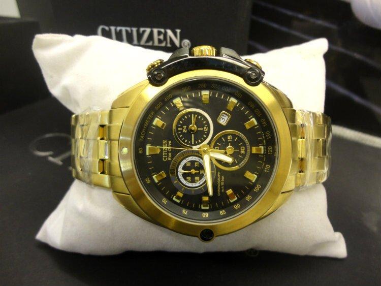 Đồng hồ nam nhật bản Citizen Chronograph AT0787-55G