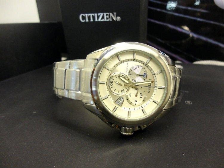Đồng hồ nam nhật bản Citizen Chronograph AT0821-59A