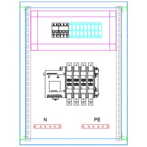 Tủ ATS-3P-200A OSUNG