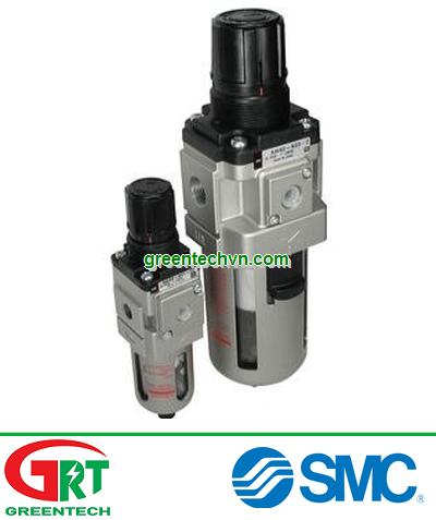 AW20-F02H-2-A   SMC AW20-F02H-2-A   Bộ lọc điều áp   filter regulator, modular, AW MASS PRO