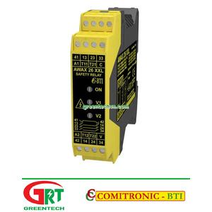 AWAX 26XXL  Comitronic AWAX 26XXL   Rơ le an toàn   Safety Relay   Comitronic Vietnam