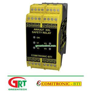 AWAX 27XXL   Comitronic AWAX 27XXL   Rơ le an toàn   Safety Relay   Comitronic Vietnam