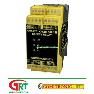AWAX 28XXL   Comitronic AWAX 28XXL   Rơ le an toàn   Safety Relay   Comitronic Vietnam