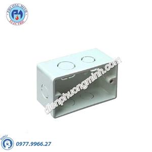 Đế đôi vuông âm tường - Model AWF248