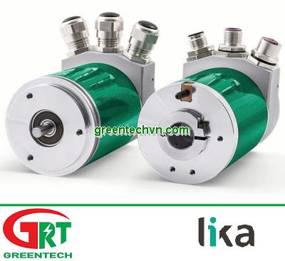 Ax58x PB   Lika   Bộ mã hóa vòng xoay   Multi-turn rotary encoder / absolute /hollow-shaft