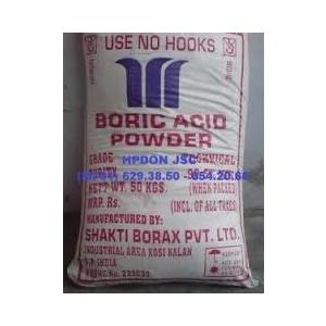 Axit Boric dạng bột (H3BO3) 99,5%
