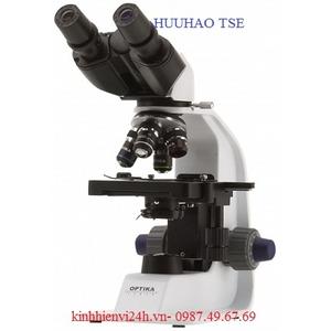 Kính hiển vi sinh học cao cấp 2 mắt, tích hợp pin sạc B-157R OPTIKA