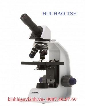 Kính hiển vi sinh học 1 mắt, tích hợp pin sạc B-155R OPTIKA