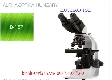 Kính hiển vi sinh học cao cấp 2 mắt B-157 OPTIKA
