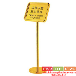 BẢNG CHỈ DẪN(INOX VÀNG) - 181A05