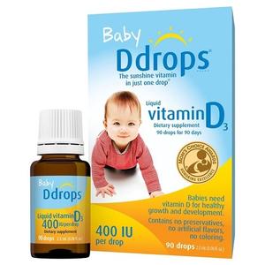 Baby Ddrops Vitamin D3 90 giọt
