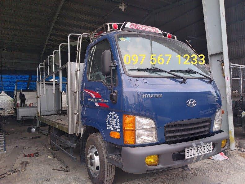 baga mui xe tải n250
