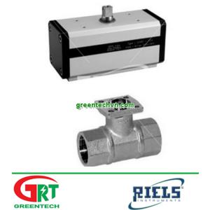 Ball valve / pneumatic / regulating / for air DA   Van điều khiển khí nén  Reils Instruments Vietnam