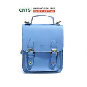 Balo thời trang CNT BL64 thời trang phong cách nhiều màu - XANH DƯƠNG
