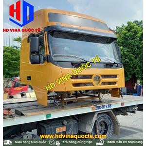 Bán, bàn giao cabin tổng thành thay thế xe đầu kéo 2 cầu DAYUN DYX10 cho khách hàng Quảng Ninh