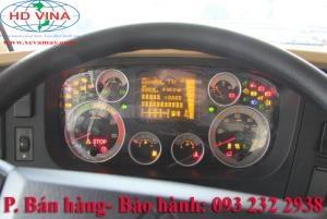 Bán bảng đồng hồ táp lô xe Howo A7 Tải thùng đầu kéo xe ben trộn bê tông 375 380 390 420 hp ps