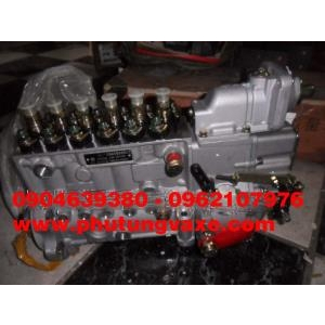 bán bơm cao áp xe trộn bê tông dongfeng hồ bắc L340 ps, xe ben dongfeng công xuất 375 ps