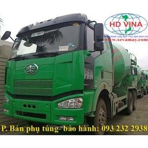 bán bơm nước xe trộn bê tông FAW 350 J6 CA5250 động cơ CA6DL2-35E3F chính hãng, bảo hành giá tốt