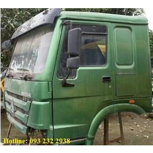 Bán cabin Howo cũ đời cao HW76 1 giường nằm chính hãng Tải thùng, đầu kéo, xe ben, xe trộn bê tông..