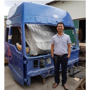 Bán cabin mộc xe đầu kéo 2 cầu THACO AUMAN FV380 , cabin thay thế cho xe đầu kéo THACO FOTON AUMAN
