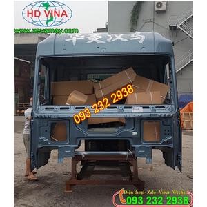 Bán cabin mộc xe đầu kéo CAMC H6 385PS và cabin xe CAMC tải thùng, xe ben, xe trộn bê tông các loại